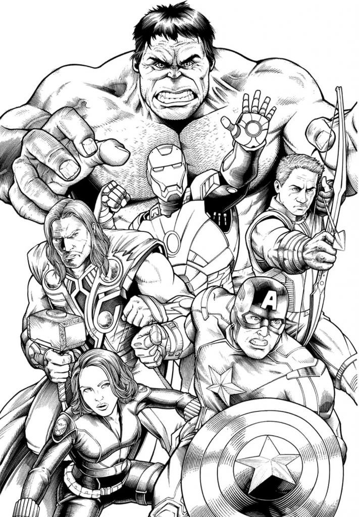 Coloring Rocks Avengers Coloring Superhero Coloring Avengers Coloring Pages