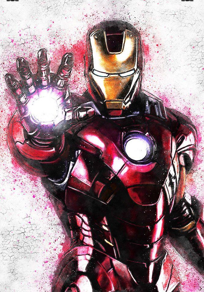 Giclee Quality Superheroes Avengers Endgame Graffiti Wall Art Iron Man Poster