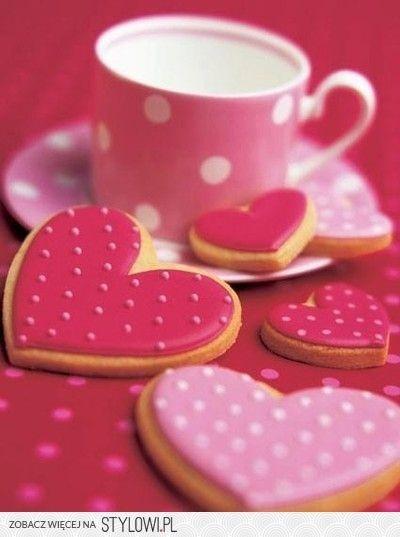 Roze koekjes