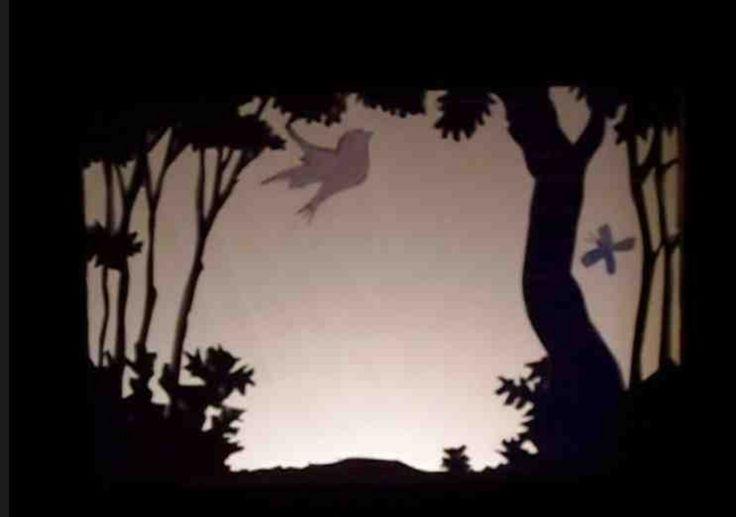 Fiche créative: Réaliser un théâtre d'ombres chinoises