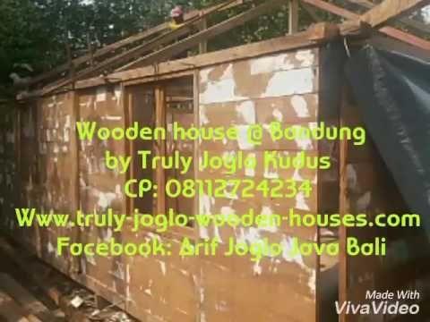 Rumah Panggung Jati 6x8 meter atap Sirap tiang 20cm tinggi 6 meter/ 2 story recycled teak wooden House.  Built in Dago, Bandung, West Java by Truly Joglo Kudus  Info & Inquiry: Telp/ Whatsapp: (+62) 08112724234 Facebook: Arif Joglo Java Bali  email: Truly.Arifsuryanto@Gmail.com  Www.trulyjoglohouse.blogspot.co.id
