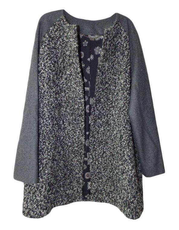 Manteau laine bouclée I CODE by IKKS