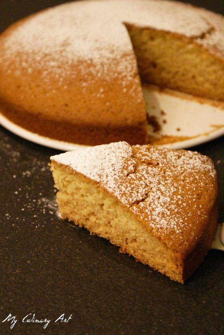 Łatwe ciasto waniliowe bez jajek (bez miksera i wagi)