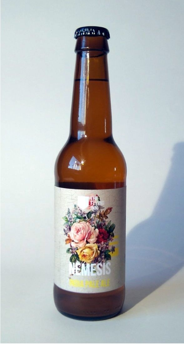 Cerveza Artesana The Flying Inn Némesis, India Pale Ale (IPA) 6,4% ABV  (The Flying Inn, Valladolid) [diciembre 2017]