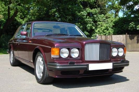 Used 1994 (L reg) Red Bentley Turbo R 6.8 4dr for sale on RAC Cars