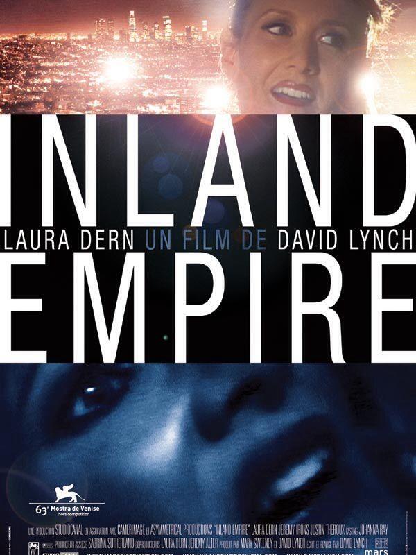 C'est le tout dernier film : Inland Empire est un film américano-franco-polonais écrit et réalisé par David Lynch au moyen de la technologie numérique (une Sony PD-150, une TRV 900 et le logiciel Avid Studio pour le montage) et présenté hors compétition à la Mostra de Venise 2006 (6 septembre 2006).