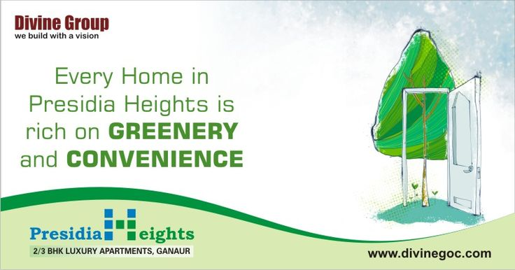 #Presidia #Heights perfectly reflects the best of modern & secure living. Residents prefer this residency over others because it let experience healthy living with lush green surrounding.