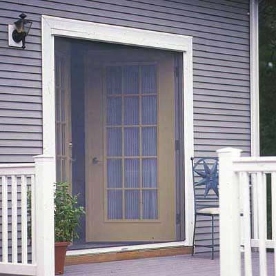 thisoldhouse.com | from How to Install a Retractable Screen Door