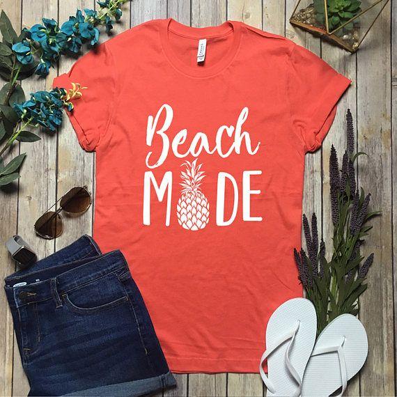Beach Mode Shirt  Vaca Mode Shirt  Vaca Mode Top  Vacation