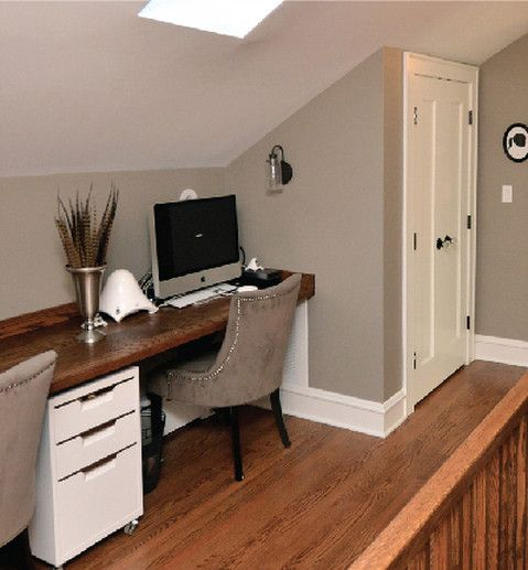 47 Best Tucked Under Stairs Eaves Images On Pinterest: Best 25+ Attic Office Ideas On Pinterest