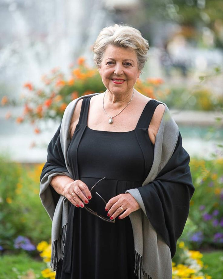Und da ist sie wieder: Marie-Luise Marjan - ihr gefällt es gut bei uns im Kurgarten. Letztes