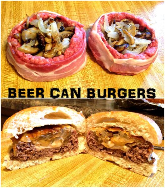 17 Best Ideas About Beer Can Burgers On Pinterest
