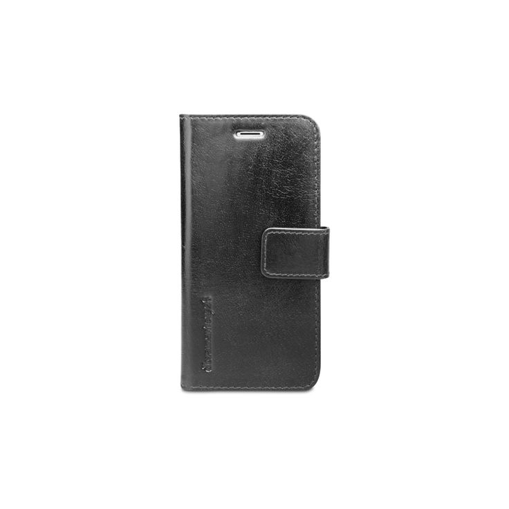 'Lynge' folds in a notebook style and fastens with a magnetic leather tab.
