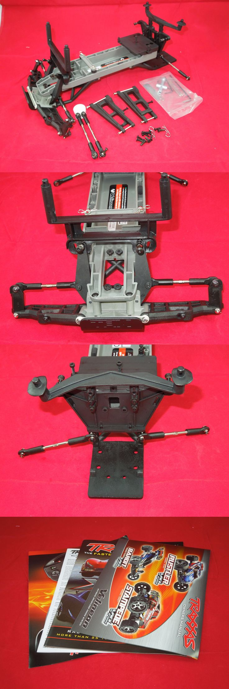 Chassis Plates Frames and Kits 182198: Traxxas Stampede Vxl Brushless Chassis Parts Lot + Tools Roller Rolling Xl-5 -> BUY IT NOW ONLY: $44.99 on eBay!