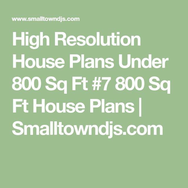 High Resolution House Plans Under 800 Sq Ft #7 800 Sq Ft House Plans | Smalltowndjs.com
