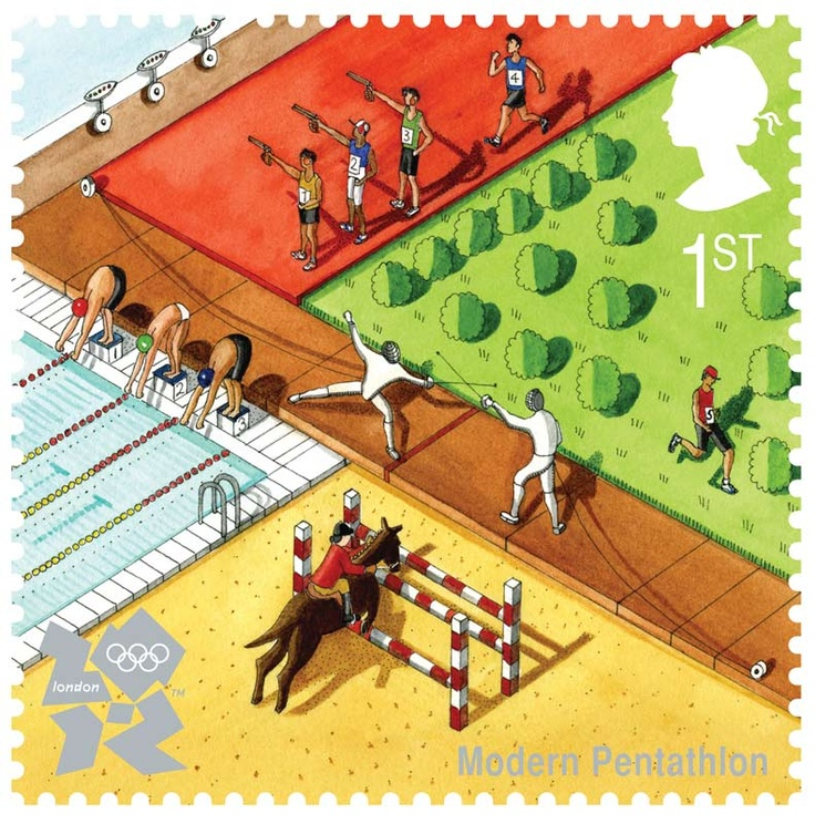 Olympic Stamp - London 2012