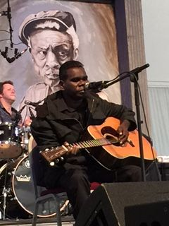 Gurrumul - blind, indigenous - courageous playing the music of the disempowered to empower them.