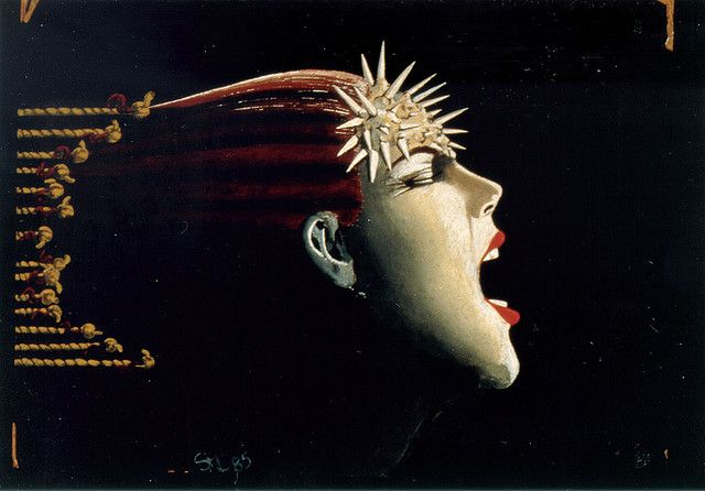 yes, this is what a migraine feels like. I LOVE this guys album of migraine art!