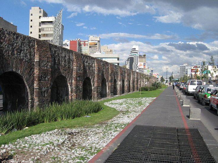 arcos del acueducto de chapultepec