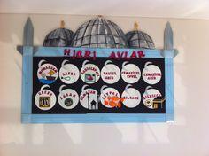 Osmangazi Koleji Karakter Eğitimi Panosu ( Hicri Aylar)