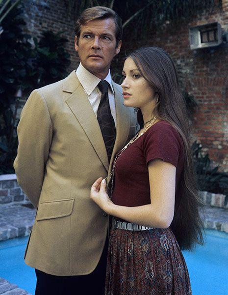ジェーン・シーモア 『007 死ぬのは奴らだ』(1973) ソリテア役