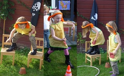 Pippi Longstocking birthday party games (a couple different Pippi parties in Sweden on this site)
