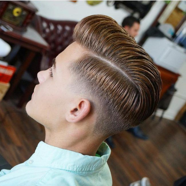 Parted Combover Low Tape-Up