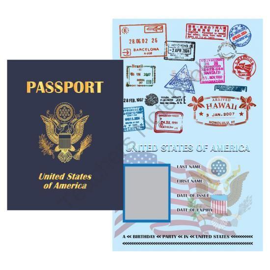 passport template on pinterest international passport passport
