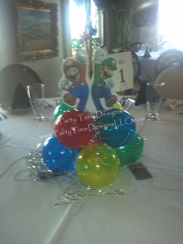 Balloon Cluster Centerpiece : Best images about custom centerpiece on pinterest