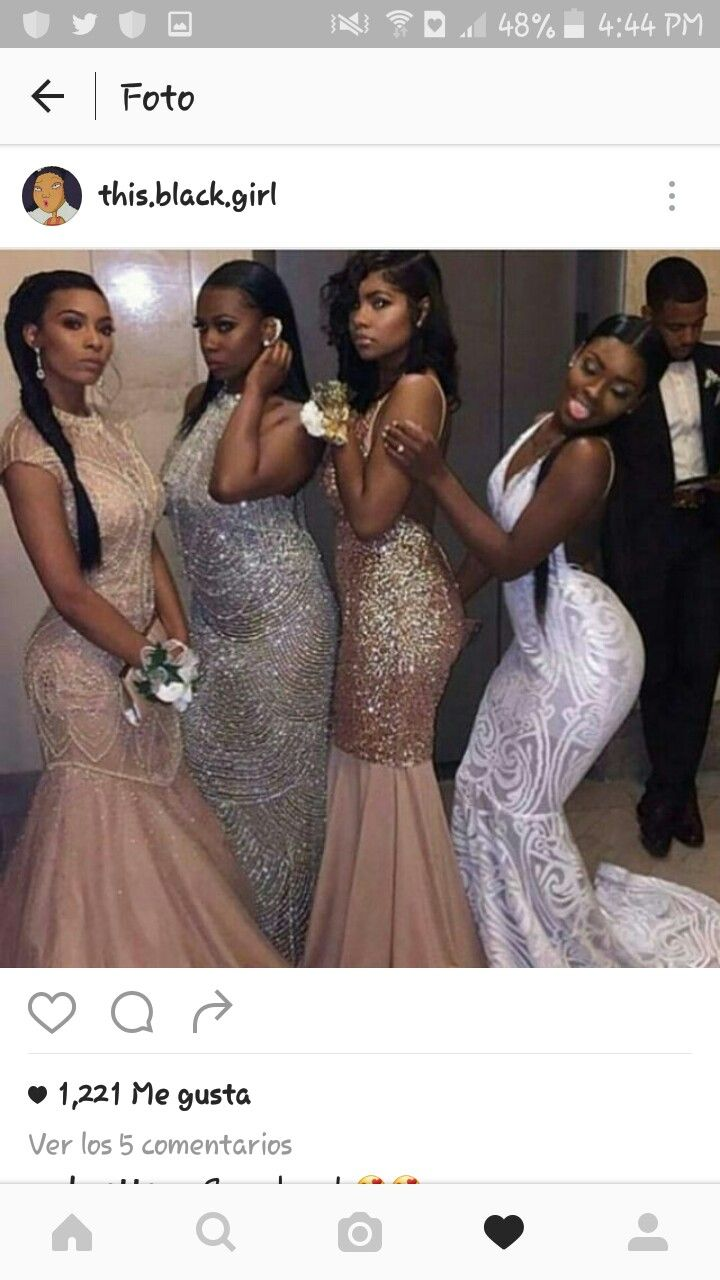 The Best Prom Dreses For Black Girls | Swag | Pinterest ...