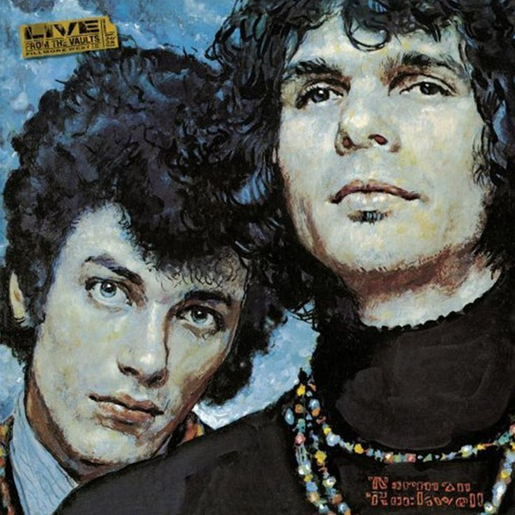 Mike Bloomfield And Al Kooper The Live Adventures Of Mike Bloomfield And Al Kooper - Album Cover on 2LP