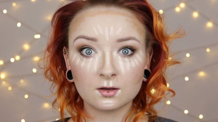 Konturowanie twarzy na mokro ♡  Red Lipstick Monster ♡