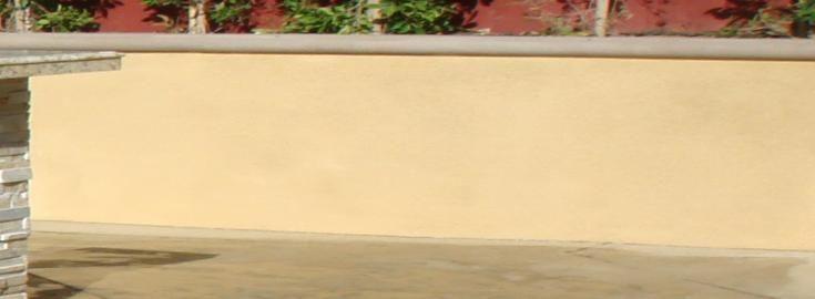 stucco retaining walls - Bing images