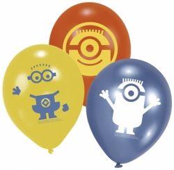 6ks nafukovacích barevných balónků - MIMONI
