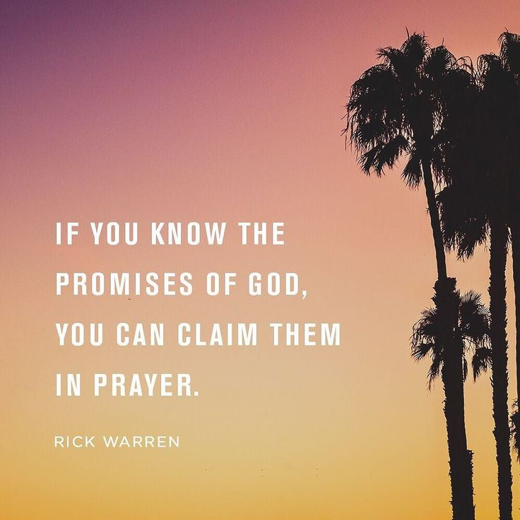 claiming gods promises Learn how praying the promises of god will strengthen your faith has anyone ever broken a promise to you god will never break his promises to us  claiming the .