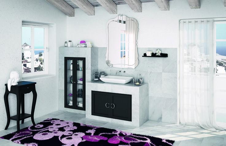 Piastrellabile laccato nero con finitura laccato nero http://www.cerasa.it/it_IT/bagni/classico/piastrellati/arredare-bagno_moderno-piastrellabile-anta-york-12-13