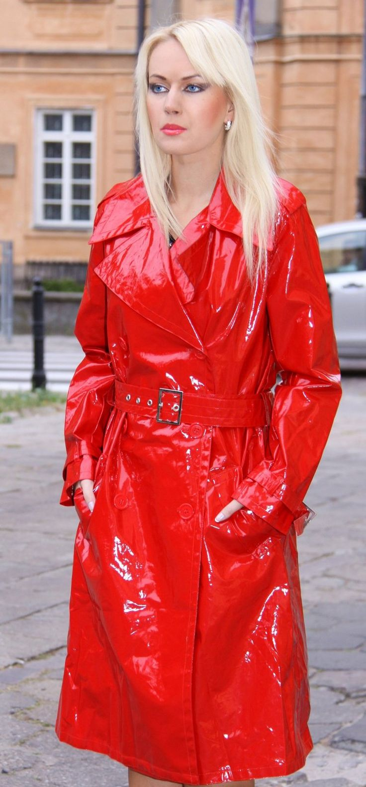 67 best luscious images on Pinterest | Pvc raincoat, Trench and ...