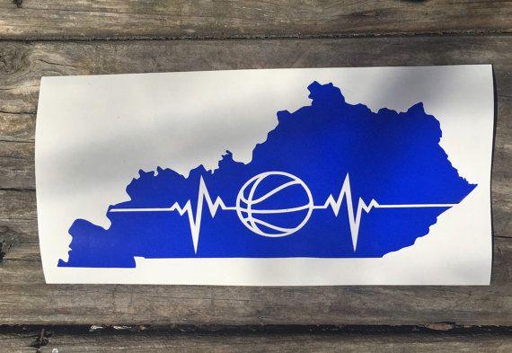 Basketball the heartbeat of Kentucky by EastKyCreations on Etsy