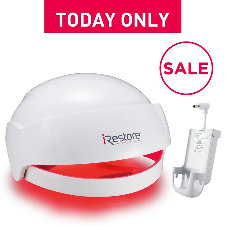 iRestore Laser Hair Growth System + Rechargeable Battery Pack - FDA-Cleared Hair Loss Product - Treats Thinning Hair for Men & Women - Laser Hair Therapy Restores Hair Thickness, Volume, Density The iRestore Laser Hair Growth System is FDA-cleared to treat hair loss for both men and women.  Read more http://cosmeticcastle.net/irestore-laser-hair-growth-system-rechargeable-battery-pack-fda-cleared-hair-loss-product-treats-thinning-hair-for-men-women-laser-hair-therapy-restores