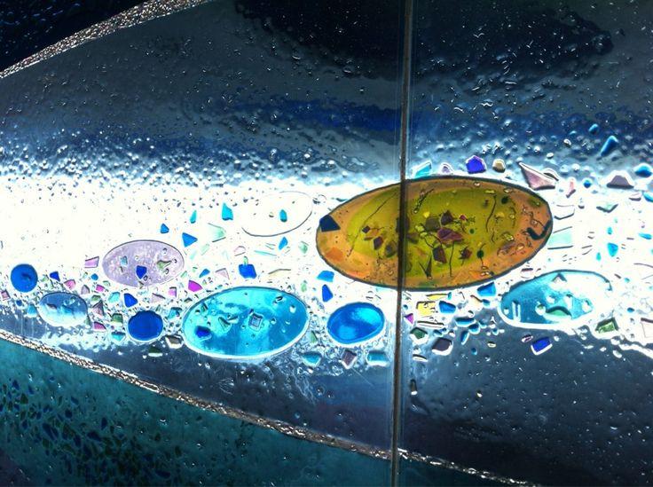 Encounter Restaurant - Los Angeles, CA, États-Unis. Mosaic Bubble Glass