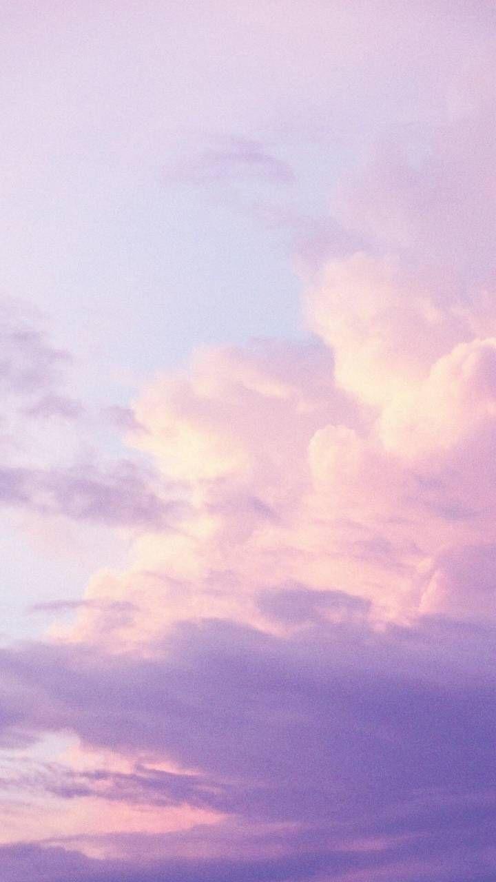 Wallpaper Sky Purple Blue Pink Clouds Aesthetic Pastel