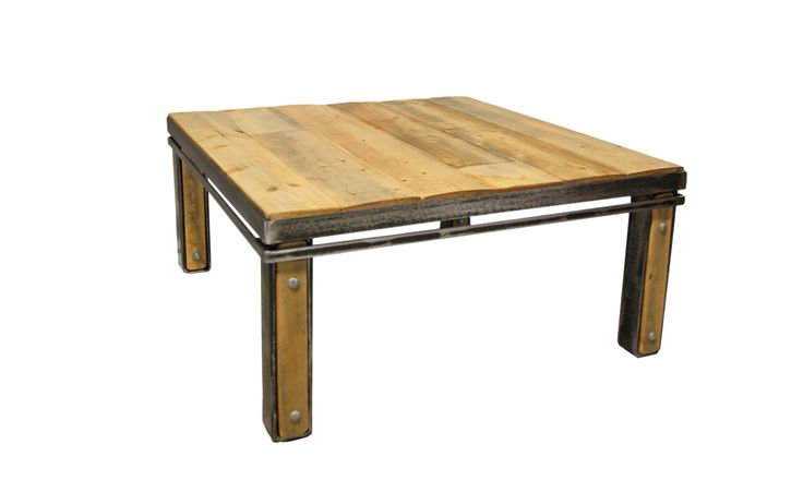 Table à dîner #table #dinner #room #acier #steel #meuble #furniture #industriel #industrial #design #wood #bois