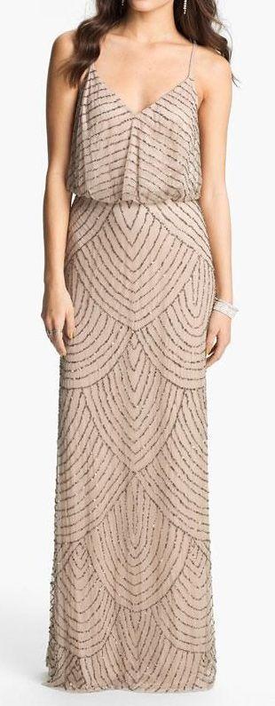 Deco beaded dress