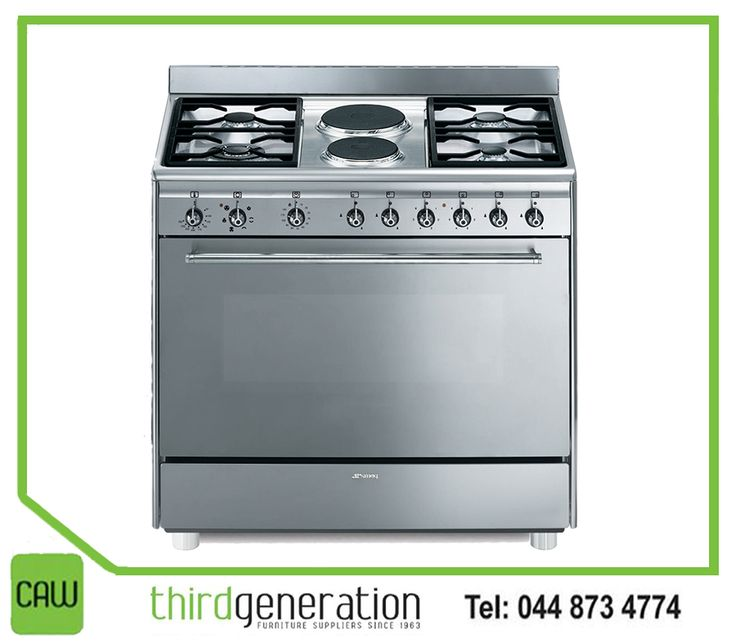 A passion for cooking deserves an outstanding cooker. Get this #Smeg 4 gas burner stove available from #ThirdGenerationCAW. Visit us in-store or contact us on 044 873 4774.