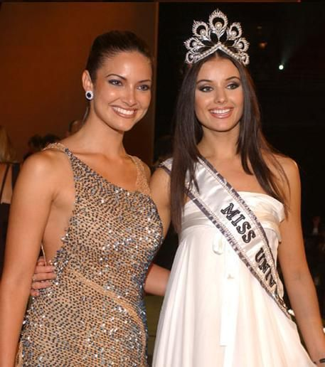 Oksana Fedorova Miss Universe 2002