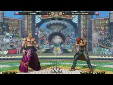 Combo Breaker 2017 The King of Fighters XIV Top 8