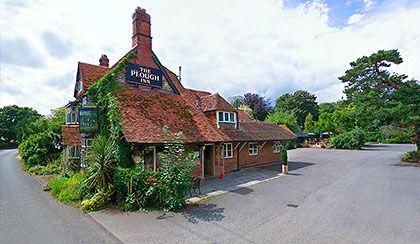 The Plough Inn, Longparish - Chef/owner James Durrant, award-winning venue.