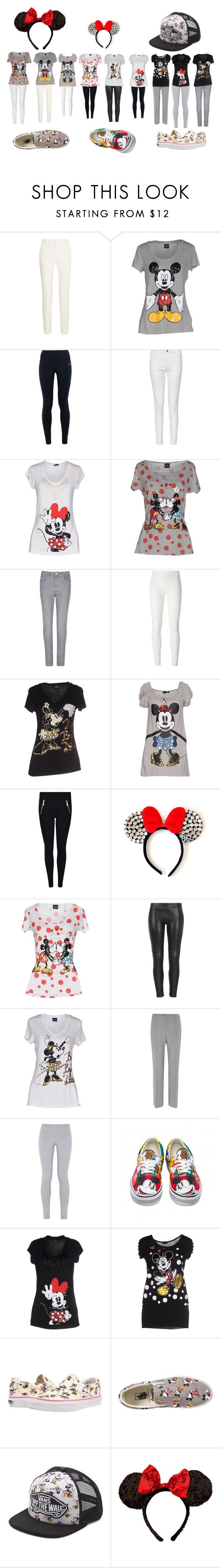 mickey mouse by alicejudo on Polyvore featuring mode, Disney, NIKE, Per Una, Viyella, French Connection, Roland Mouret, MuuBaa, MICHAEL Michael Kors and Rick Owens Lilies