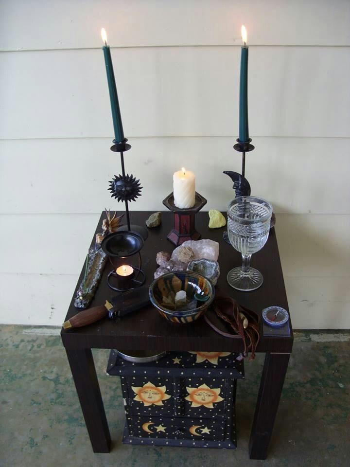 Altars Wiccan Altar