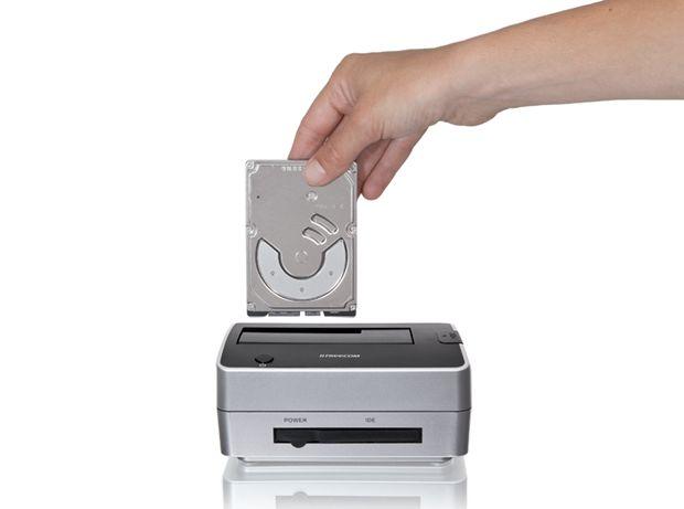 Hard drive dock pro 3 5 2 5 pata sata usb2 electromania co